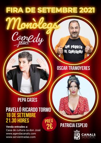 MONOLEGS OSCAR TRAMOYERES - PATRICIA ESPEJO - PEPA CASES
