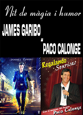 JAMES GARIBO i PACO CALONGE